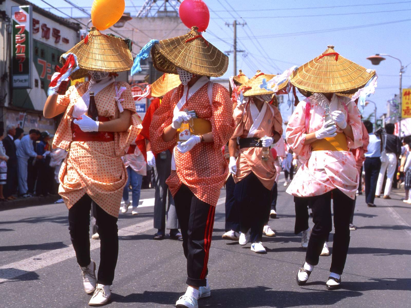 鶴岡天神祭(化けものまつり)