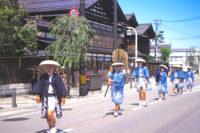愛宕神社祭典大名行列|湯沢市