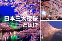 日本三大夜桜とは!?