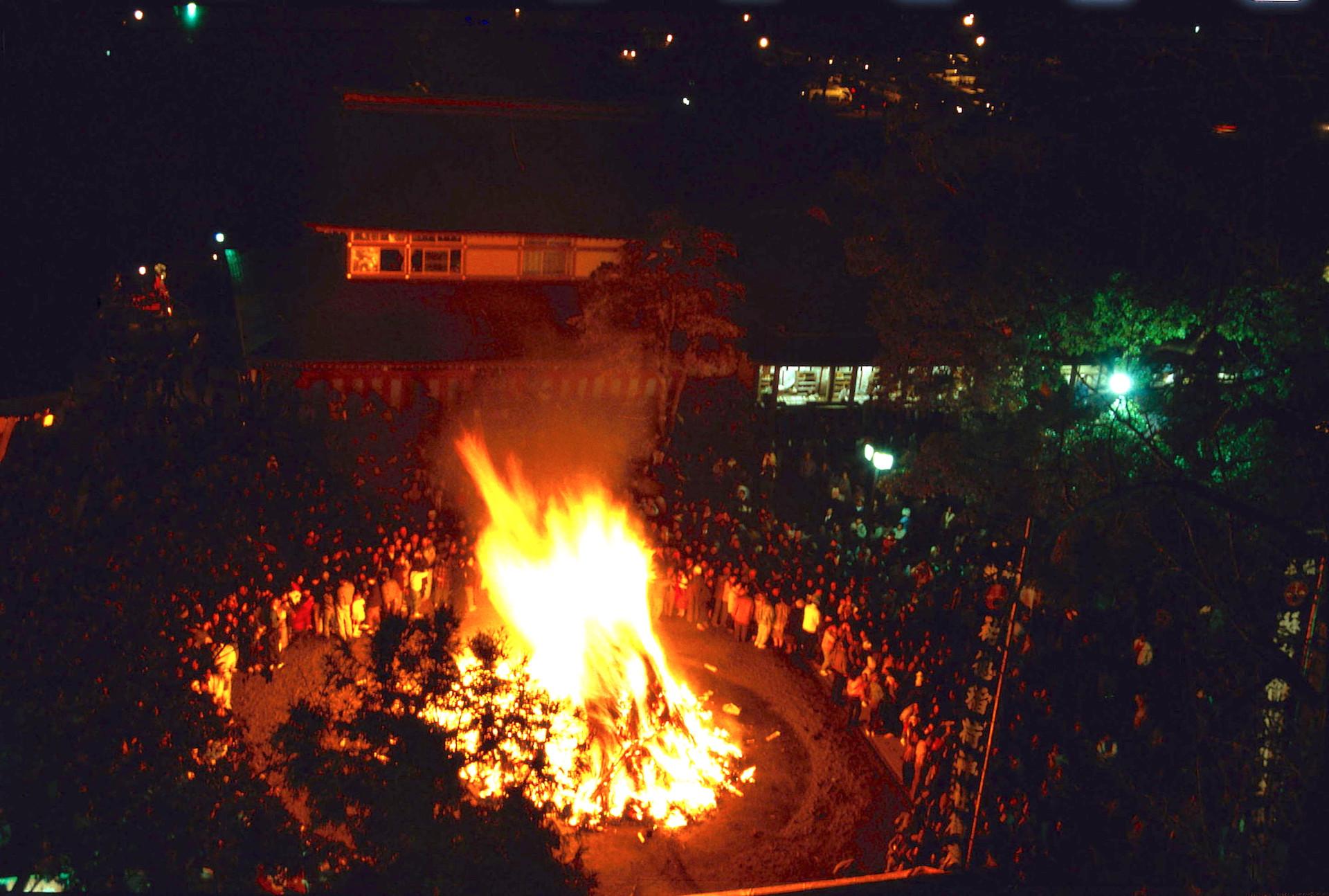 祐徳稲荷神社『秋季大祭(お火たき)』